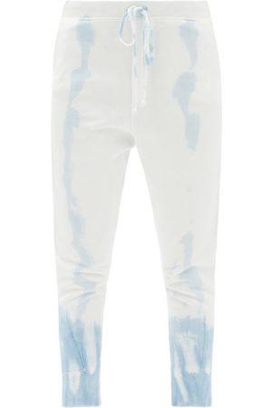 NILI LOTAN Nolan Tie-dye Cotton-jersey Track Pants - Womens - Light
