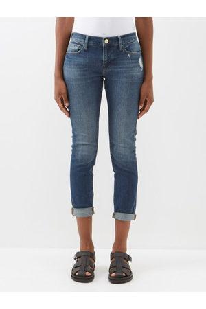 Frame Women Jeans - Le Garcon Cropped Jeans - Womens - Denim