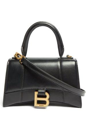 Balenciaga Hourglass Small Leather Bag - Womens
