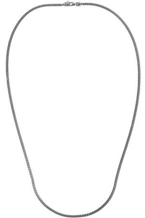 TOM WOOD Men Necklaces - M Curb-chain Sterling- Necklace - Mens