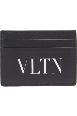 VALENTINO GARAVANI Vltn-logo Leather Cardholder - Mens