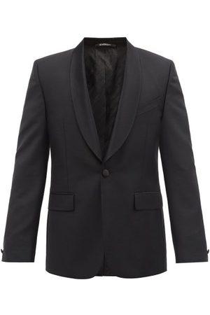 Givenchy Men Blazers - Single-breasted Shawl-lapel Wool-blend Blazer - Mens