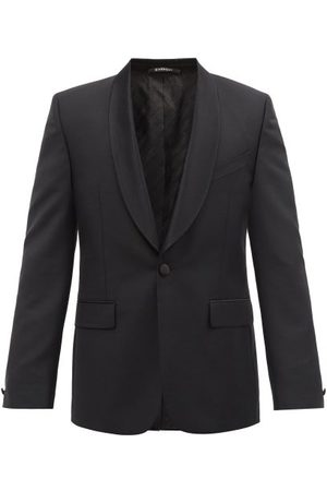 Givenchy Single-breasted Shawl-lapel Wool-blend Blazer - Mens