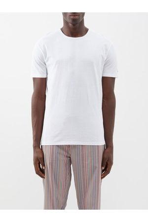 Paul Smith Men Pajamas - Pack Of Three Cotton-blend Jersey Pyjama Tops - Mens - Multi
