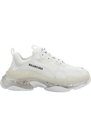 Balenciaga Women Running - Triple S Clear Sole Sneakers