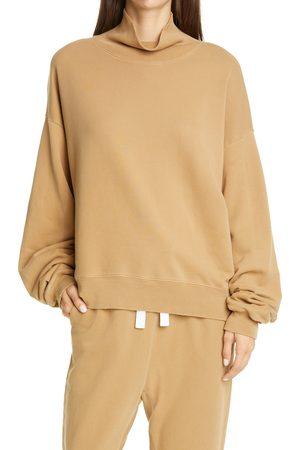 Frame Women's Organic Cotton Turtleneck Sweatshirt