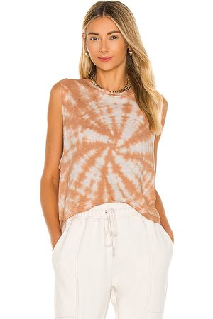 Free People X FP Movement Love Tank Tie Die in Pink.