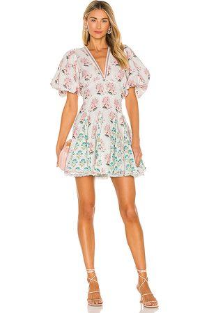 HEMANT AND NANDITA Brio Mini Dress in .