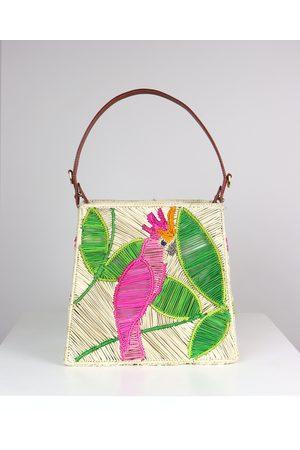 Mercedes Salazar Parrot Shoulder Bag