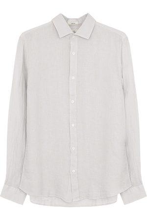 HARTFORD Sammy Linen Shirt in Cloud