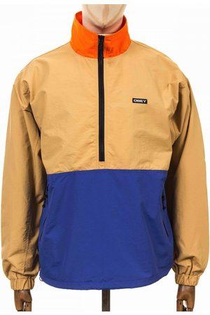 Obey Clothing Tucker Anorak - Almond Multi Colour: Almond Multi