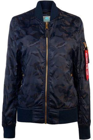 Alpha Industries Women Jackets - MA-1 VF LW Shiny Camo Jacket