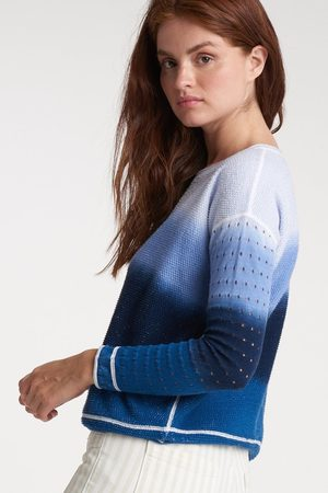 Lisa Todd Double Dip Sweater - Combo