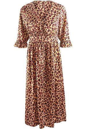 Scotch&Soda Scotch & Soda Midi Length V-Neck Dress