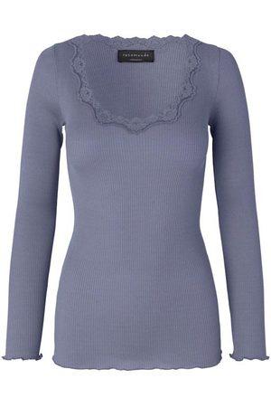 Rosemunde Babette Long Sleeve Blue Granite