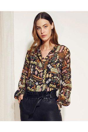 Dante 6 Agna folky print blouse