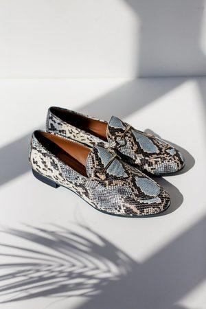 Portamento Lea Snake Loafers