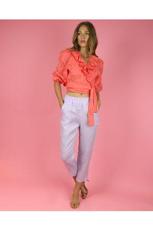 Waimari Lavender Stella Linen Pants