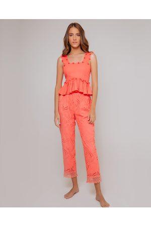 Waimari Women Jeans - Coral Villa Palma Cotton Pants