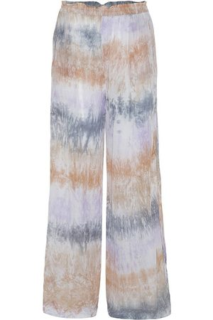 AJ117 Praise Tie-Dye Trousers in Pastel