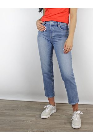 Paige Paige Sarah Straight Ankle Jeans in Solera