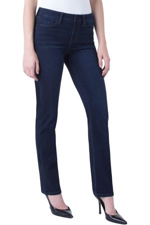 Liverpool Jeans Company Simone Piper Hugger Straight Leg Jeans - Dynasty Dark LM3042F80