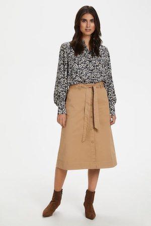 Part Two Women Skirts - Belina Skirt - tannin - 30304942