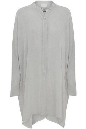 AJ117 Sheenah Tunic Dress - Grey