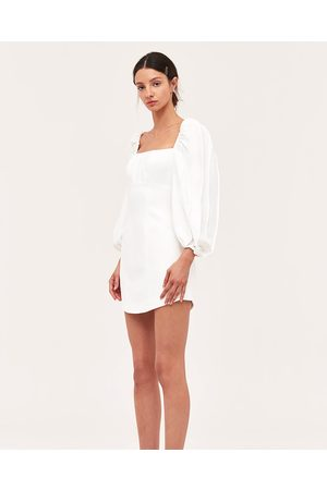 C/meo Collective Over Again Ivory Mini Dress