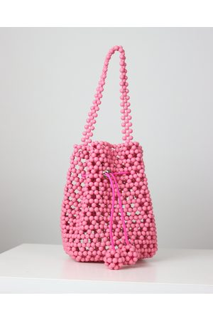 Blaiz Beaded Basket Bag