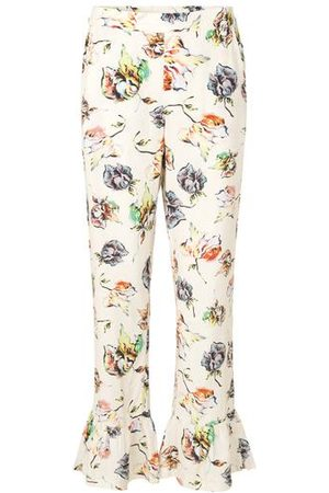 Mads Norgaard Arty Garden Pristy floral trousers