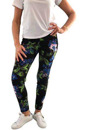 """Up Pants 66836 28"""" Slim Leg Side Slit Pull On Trouser - Miami"""