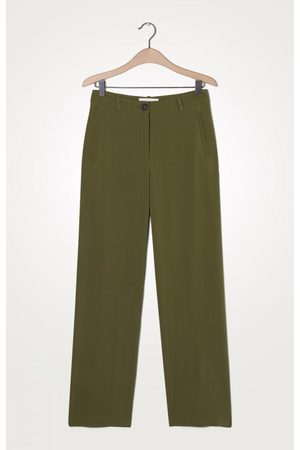 American Vintage Olive Straight Leg Trouser