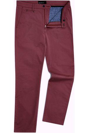 Remus Elio Maroon Tailored Chino Trousers