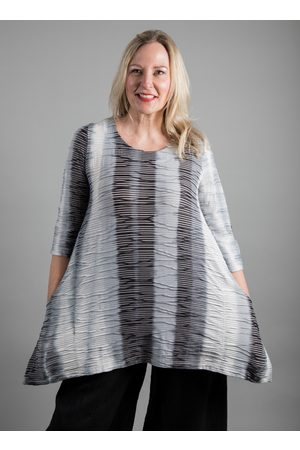 Ralston MIA GREY RIBBED TUNIC