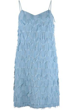 MARELLA Atelier Strappy Fringed Dress