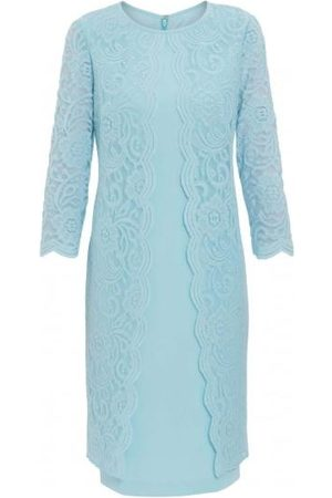 Gina Bacconi Clarabelle Lace Dress Ice SBZ5651