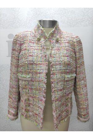 Edward Achour Paris Edward Achour Multi Jacket With Jewel Clasp 421004
