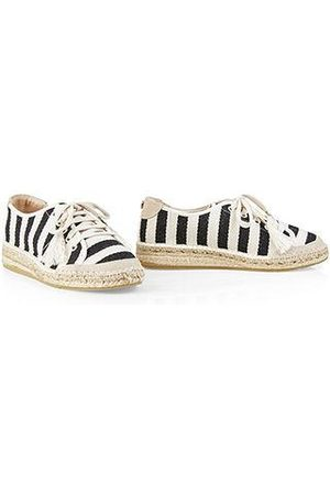 Marc Cain Striped espadrille sneakers NB SI.02 W09