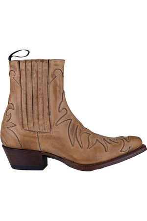 Tony Mora Western Ankle Boot - Tan