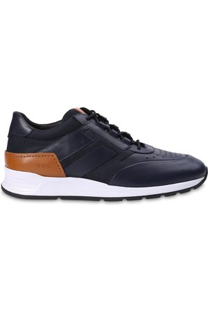 Tod's Sports Equipment - Leather Runner (Navy)