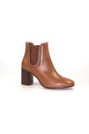 Kanna Tequila Cuero Boots - leather-tan-K2359