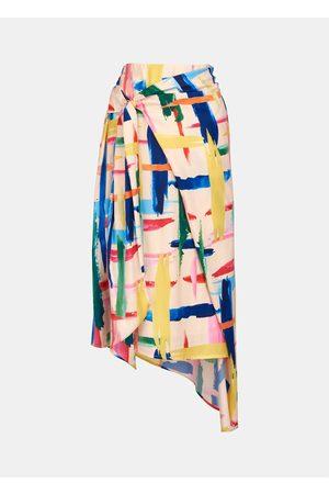 Essentiel Women Asymmetrical Skirts - Antwerp Vavocado Asymmetric Skirt - Combo 1 Off White