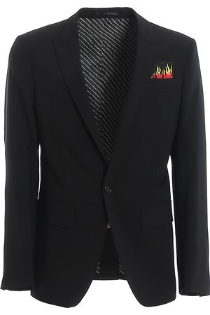 Dsquared2 Men Suits - Berlin stretch virgin wool suit