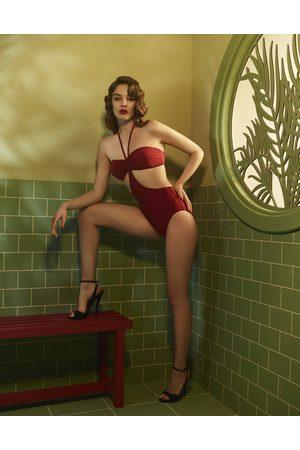 Hadley Smythe Women Swimsuits - Lotus - Swimsuit