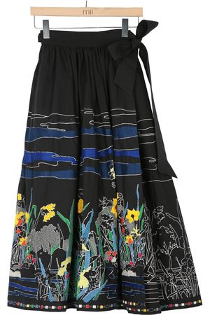 Mii Embroidered Skirt