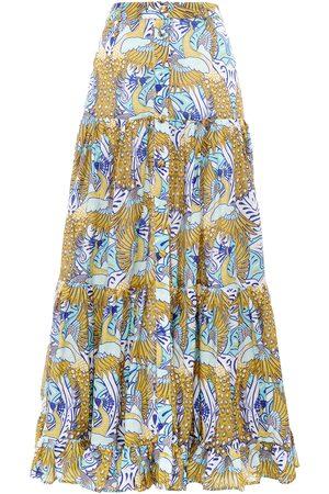 Paolita Phoenix Button Maxi Skirt