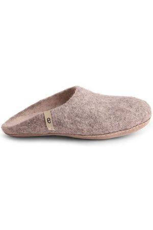 Egos Wool Slippers - Natural Grey