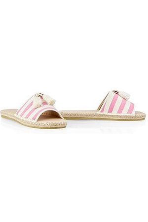 Marc Cain Women Mules - Espadrille-style mules Neon Rose NB SI.01 W09