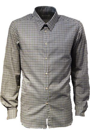LEATHERSMITH OF LONDON Small Check 100% Cotton Shirt
